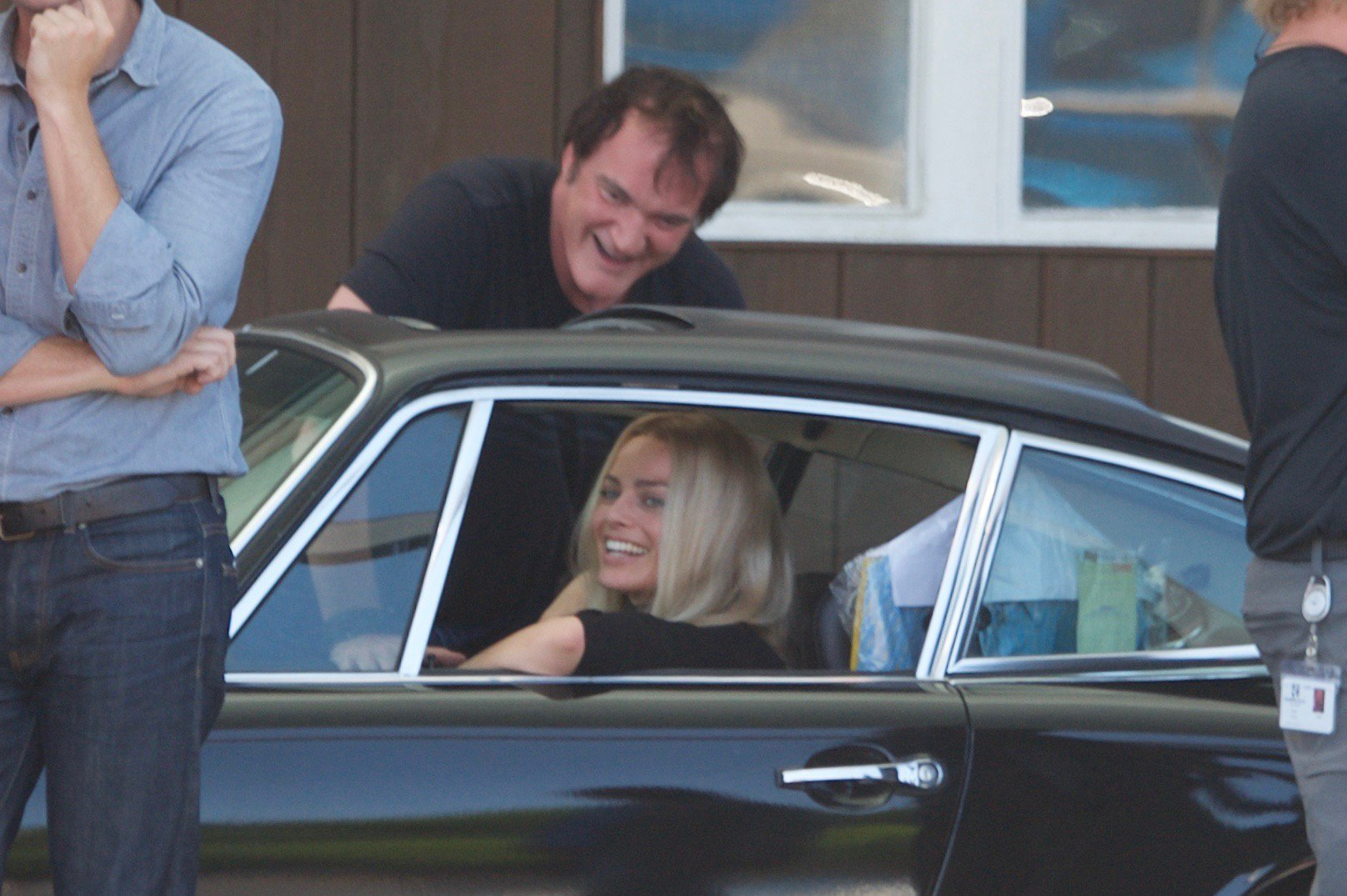 Margot Robbie is all smiles as she begins filming Once Upon A Time In Hollywood as Sharon Tate