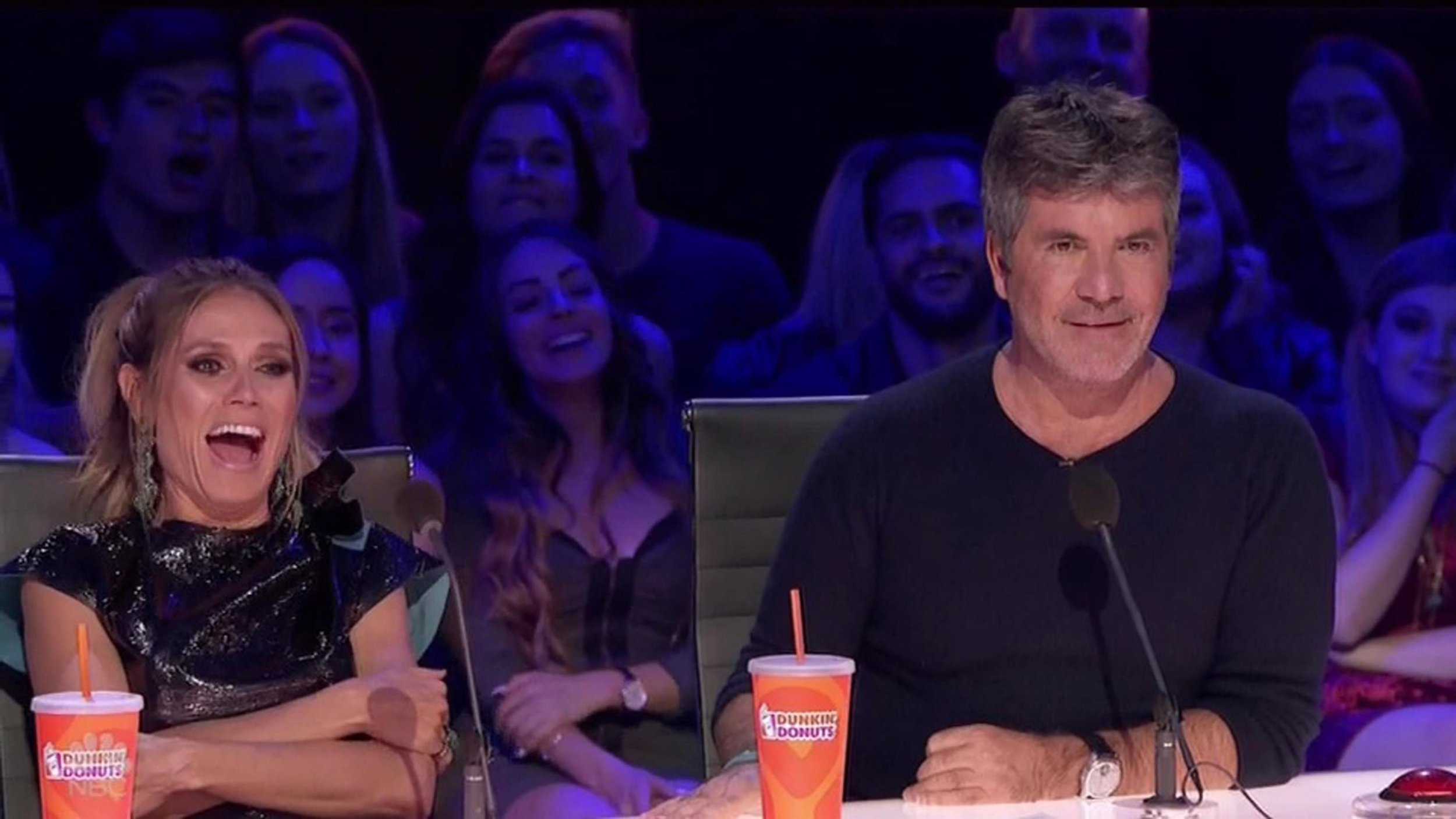 America's Got Talent: Simon Cowell demands Heidi Klum changes vote in live show 'You don't care about the planet'