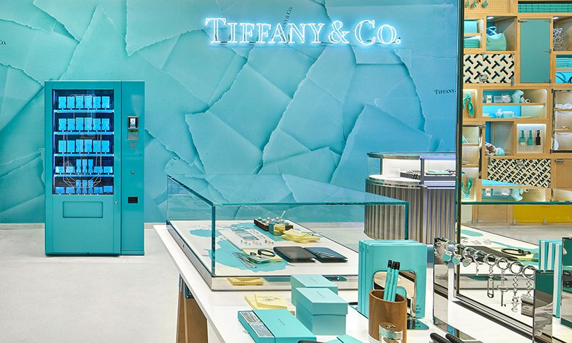 Tiffany & Co, Covent Garden store in London includes own vending machine