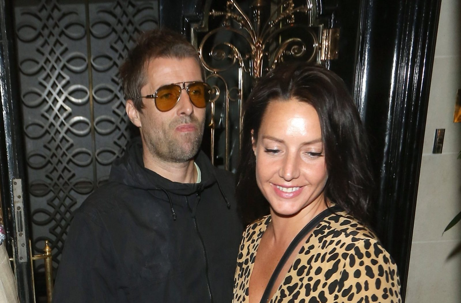 Debbie Gwyther puts Liam Gallagher controversy behind her as she celebrates singer's birthday