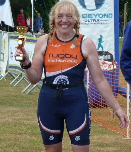 Rugby triathlete Kate Vanloo who has died after being hit by a car while out cycling in Napton, Warwickshire - A triathlete died after her bicycle hit a pothole and she was thrown into the path of an oncoming car. It has now been revealed that the pothole had been due to be filled in two months before, but the wrong pothole was repaired instead. The fatal crash happened when Kate Vanloo, a keen triathlete, was cycling near to her home in Napton, Warwickshire, in January 2016. The pothole was hidden by a puddle that spanned across the whole road. An inquest in to the 52-year-old's death led to the assistant coroner for Warwickshire demanding that Warwickshire County Council take action to reduce the delays in repairing potholes in the county and ensure the progress of repair work is tracked. This was laid down in a Prevention of Future Deaths (PFD) report and Ms Vanloo's family has now welcomed the county council's response, which was posted online last month, and??details the measures they have now put in place.