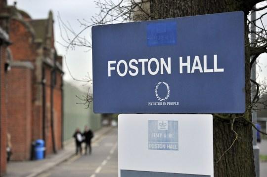 Mandatory Credit: Photo by Bruce Adams/ANL/REX/Shutterstock (2296406a) Foston Hall Women's Prison Derbyshire. Foston Hall Women's Prison Derbyshire.