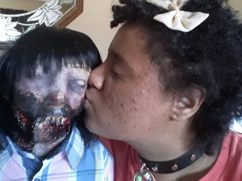 Unsatisfied by conventional dating, this woman is marrying a zombie doll