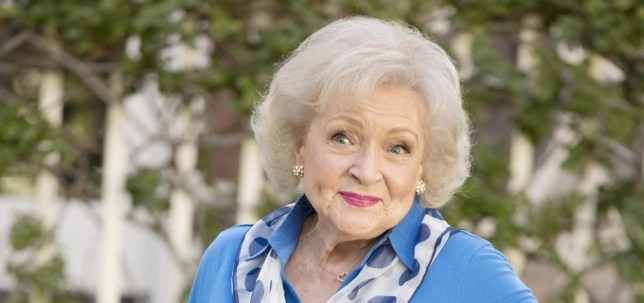 No Merchandising. Editorial Use Only. No Book Cover Usage. Mandatory Credit: Photo by Kinetic Content/Kobal/REX/Shutterstock (5881366j) Betty White Betty White's Off Their Rockers - 2012 Kinetic Content USA TV Portrait Tv Classics