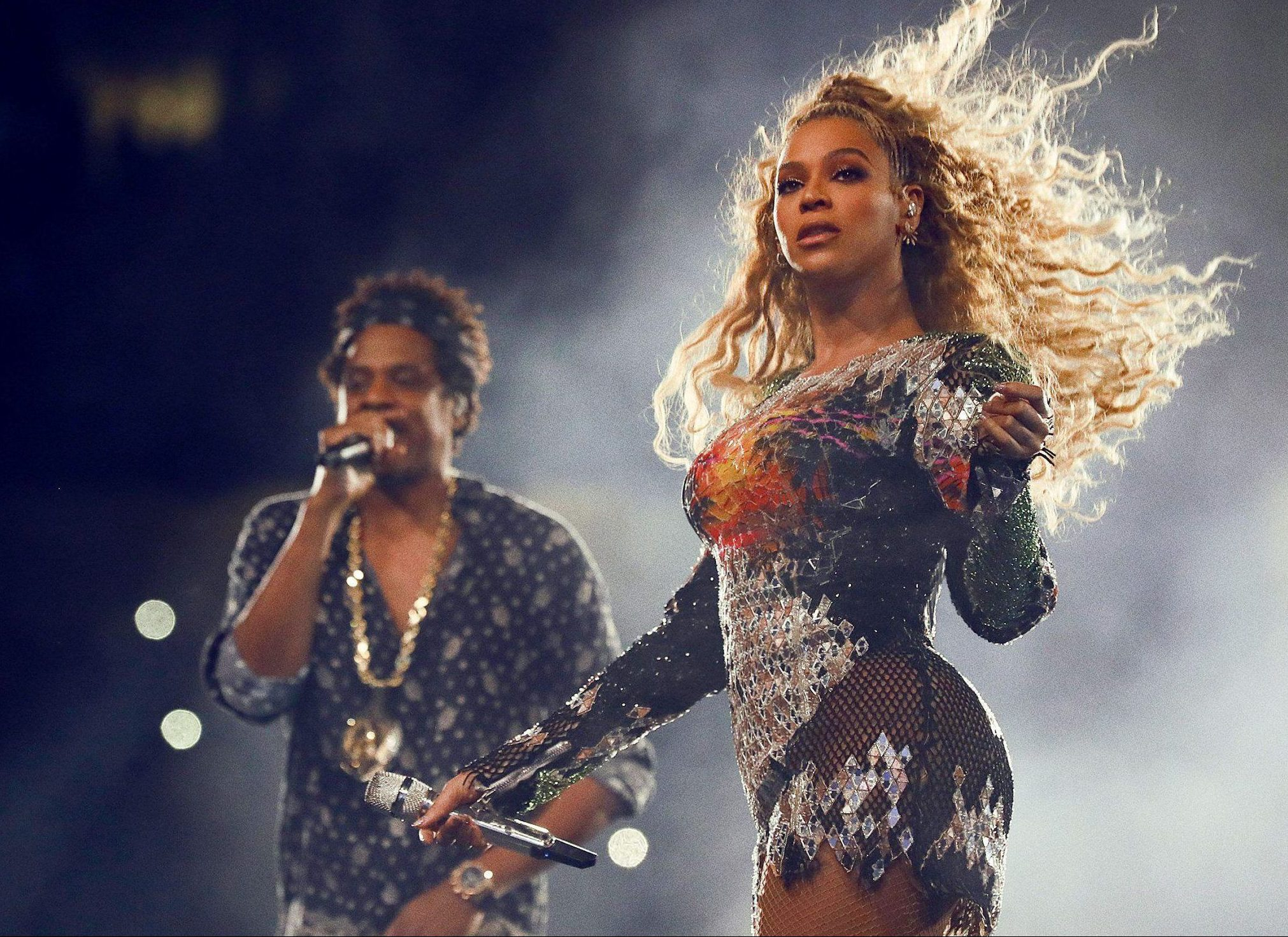 Beyonce and Jay-Z stage invader 'charged with simple battery and disorderly conduct' after rushing the stage in Atlanta