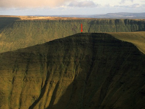 Wales has lost a mountain after it was found to be shorter than originally thought