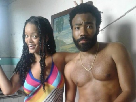 Rihanna and Donald Glover are making magic in Cuba and we're totally down for it