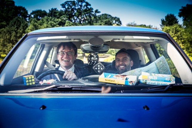 Embargoed to 0001 Friday August 17 For use in UK, Ireland or Benelux countries only Undated BBC handout photo of University Challenge stars Eric Monkman (left) and Bobby Seagull, who will bring their thirst for knowledge to screens in their first ever TV series, called Monkman and Seagull's Genius Guide to Britain. PRESS ASSOCIATION Photo. Issue date: Friday August 17, 2018. The duo, who rose to fame as rivals on the intellectual gameshow, will travel up and down the country in search of Britain's most remarkable scientific and technological achievements in a four-part series for BBC Two. See PA story SHOWBIZ Monkman. Photo credit should read: Ryan Mcnamara/BBCLabel1 Television/BBC/PA Wire NOTE TO EDITORS: Not for use more than 21 days after issue. You may use this picture without charge only for the purpose of publicising or reporting on current BBC programming, personnel or other BBC output or activity within 21 days of issue. Any use after that time MUST be cleared through BBC Picture Publicity. Please credit the image to the BBC and any named photographer or independent programme maker, as described in the caption.