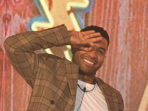 Jermaine Pennant proves he's mastered the Dele Ali challenge as he enters Celebrity Big Brother
