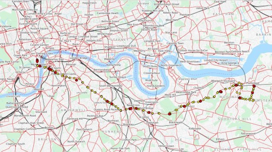 Map Bus London.Tfl S Attack On The Working Class For Bus Route Cuts In South