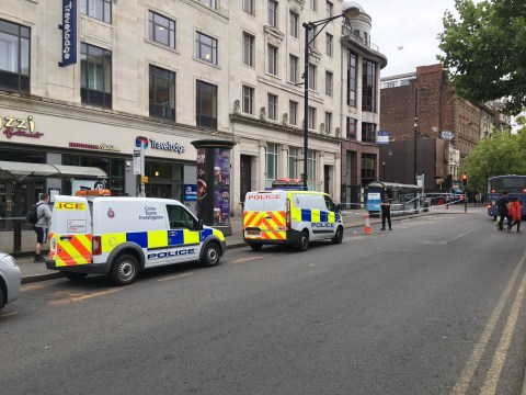 Teenagers arrested after group of men stabbed on night out in Manchester