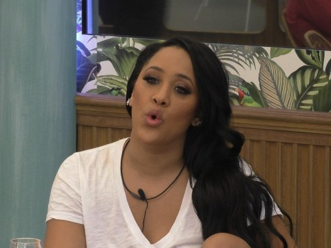 Celebrity Big Brother's Natalie Nunn tells Kirstie Alley 'f**k you' over plans to build a wall in the house