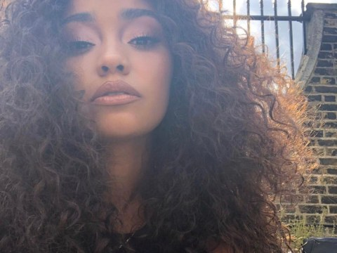 Little Mix's Leigh-Ann Pinnock inspires fans as she urges her 7-year-old niece to 'love your afro'