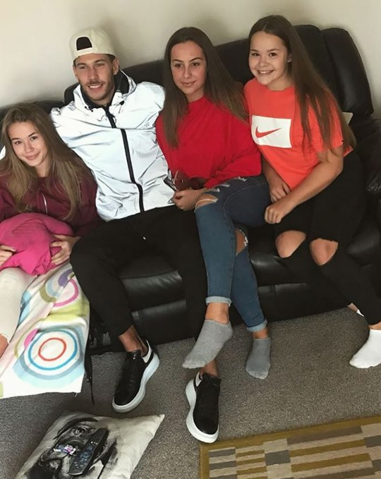 Jack Fowler is the cutest as visits injured fan in her home