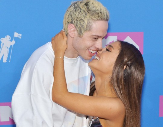9b780c9307540 Mandatory Credit: Photo by REX/Shutterstock (9795338z) Pete Davidson and Ariana  Grande