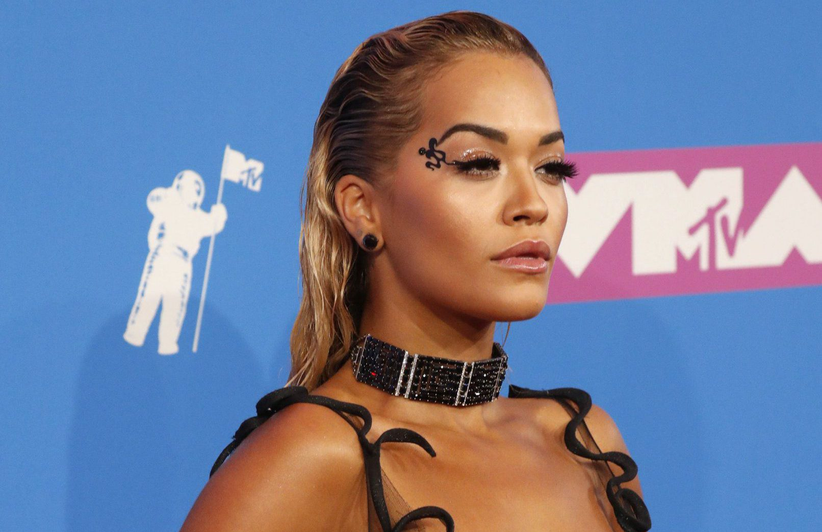 2018 MTV Video Music Awards - Arrivals - Radio City Music Hall, New York, U.S., August 20, 2018. - Rita Ora. REUTERS/Andrew Kelly TEMPLATE OUT.