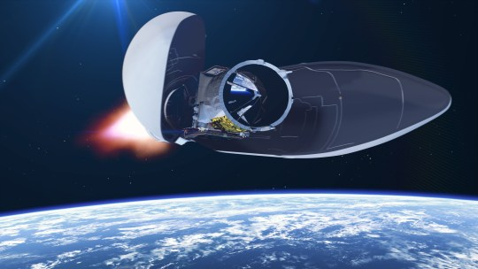 British laser-equipped satellite will blast off into space