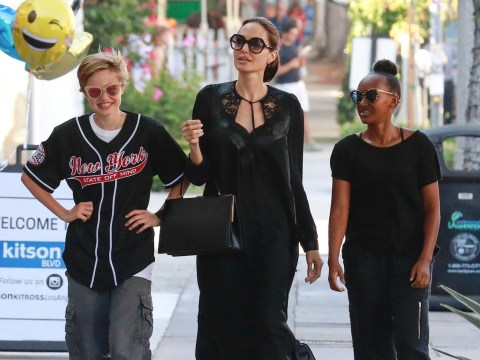 Angelina Jolie brushes aside Brad Pitt drama for shopping trip with daughters Shiloh and Zahara
