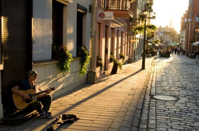 Street scene, Vilnius, Lithuania