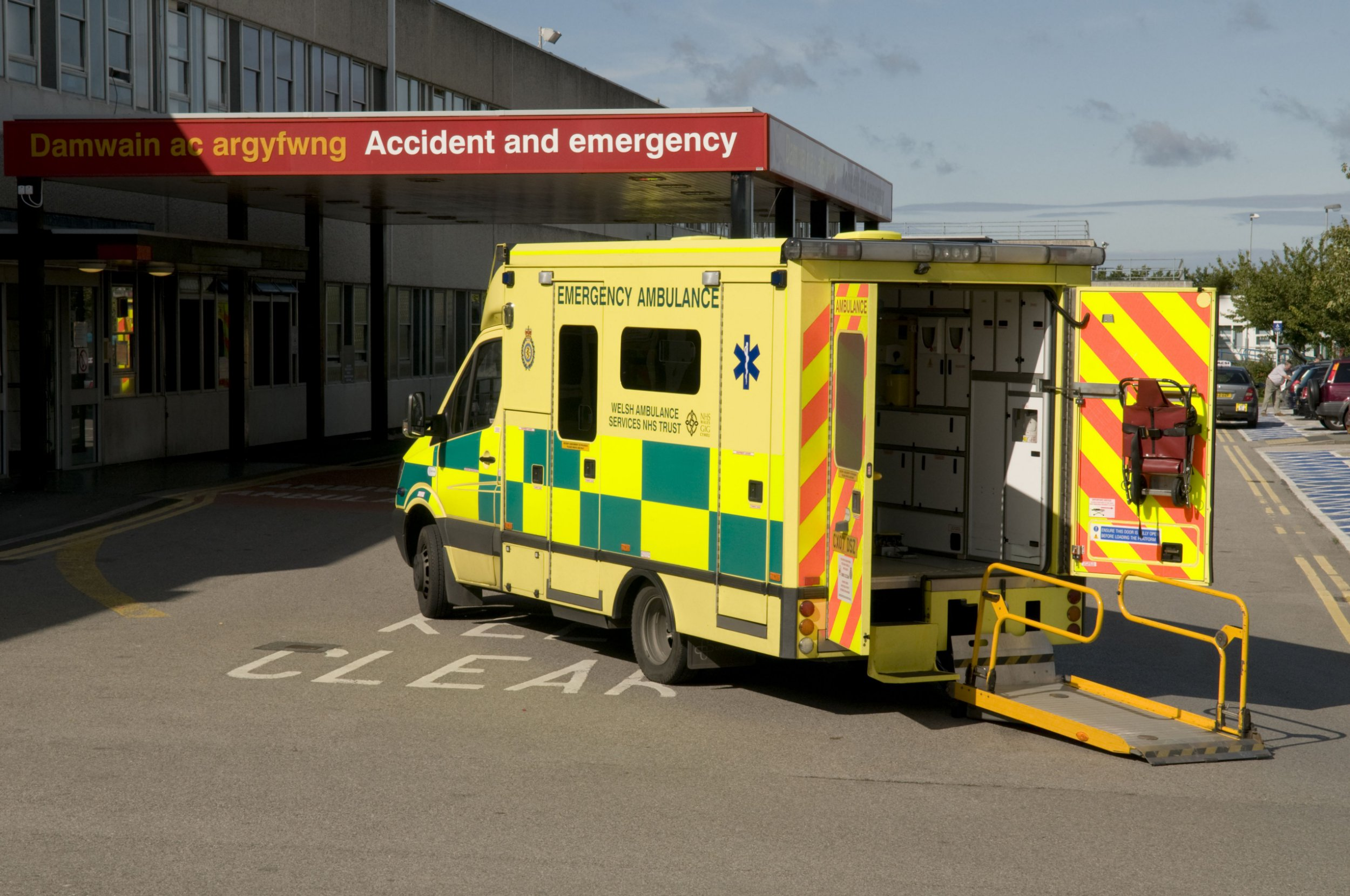 Mandatory Credit: Photo by Photofusion/REX/Shutterstock (2285269a) Ysbyty Glan Clwyd Hospital, Bodelwyddan, North Wales, Britain Health