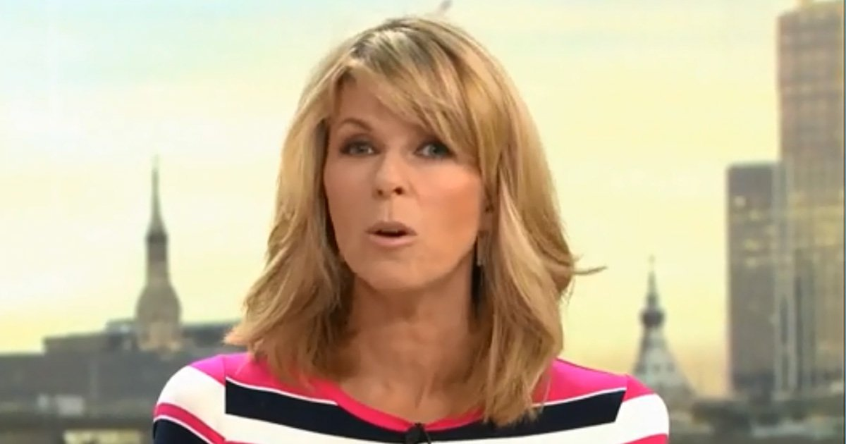 Kate Garraway sent home from Good Morning Britain sick as Charlotte Hawkins is forced to step in