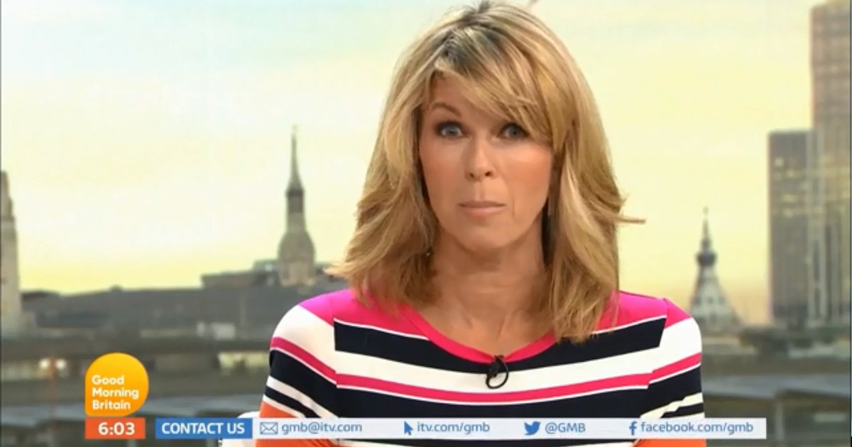 Kate Garraway reveals she's been hit by thieves and had car stolen after health scare i nightmare week Credit: ITV