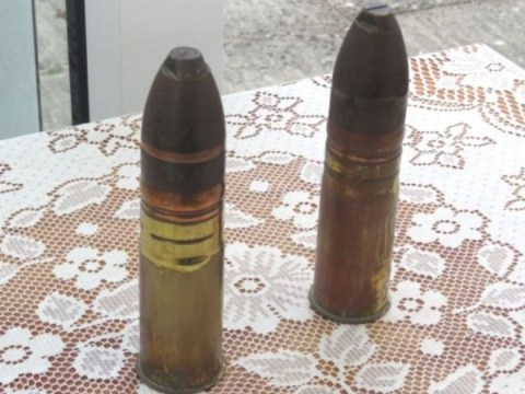 Woman, 85, polished live First World War ammo to take it to village show