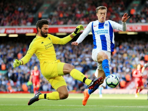 Alisson promises to continue taking risks in possession as Liverpool's No.1