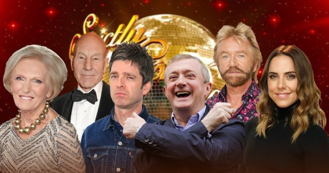 Picture: Getty, BBC people who said no to Strictly Come Dancing