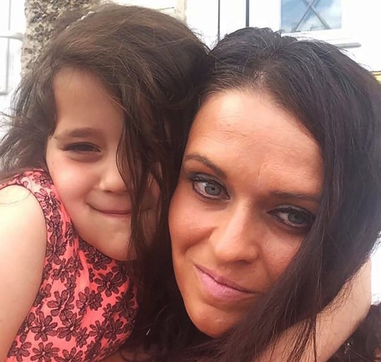Collect from Caters News - (Pictured:Rachel Potter and daughter Brooke ) - A 33-year-old mum is believed to be one of the youngest people in Britain ever to have been diagnosed with dementia. Mum-of-one Rachel Potter, from Chesterfield, was diagnosed with the condition back in 2016 at the age of 31 after after relatives became concerned about her sudden memory loss.Her devastated dad, Kev Potter, 61, said that his daughter isnt the same person as she used to be - with the young woman now requiring visits from carers twice a day and is unable to write or walk without help. SEE CATERS COPY