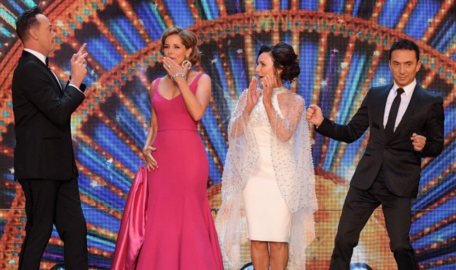 Mandatory Credit: Photo by David Fisher/REX/Shutterstock (9808991r) Craig Revel-Horwood, Darcey Bussell, Shirley Ballas and Bruno Tonioli 'Strictly Come Dancing' TV show launch, BBC Broadcasting House, London, UK - 27 Aug 2018