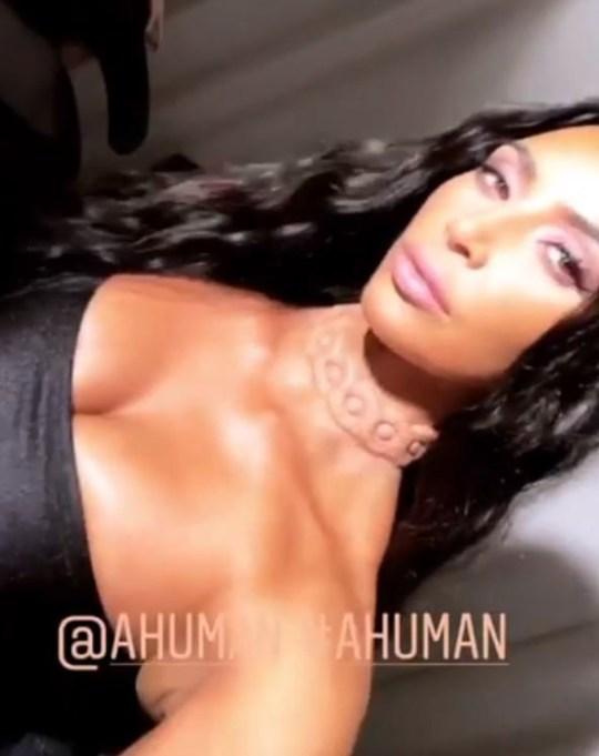 METRO GRAB VIA YOUTUBE Kim Kardashian, Chrissy Teigan and Tan France preview Simon Huck's A. Human's pieces
