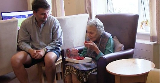 Picture: Jelly Drops Grandson makes special 'sweets' to help his granny with dementia