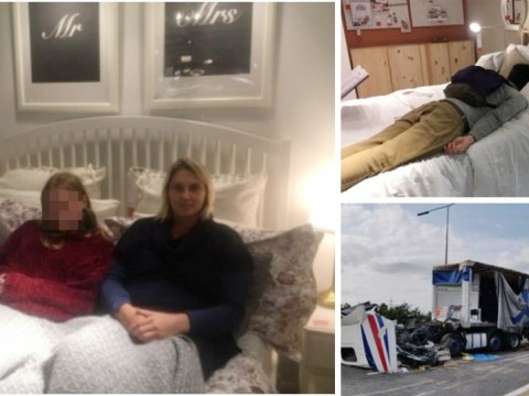 Ikea offers beds to dozens of stranded motorists after M25 lorry crash