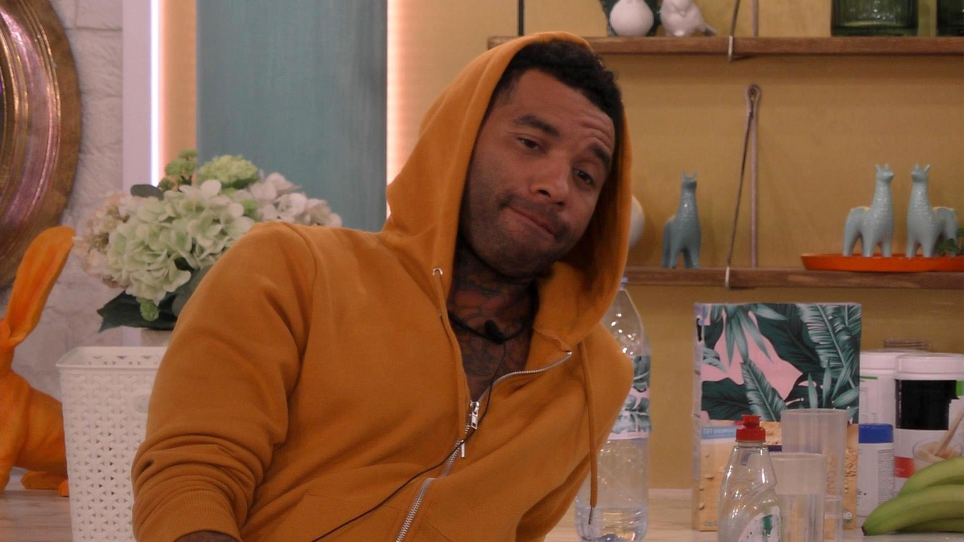 Celebrity Big Brother's Jermaine Pennant put up for eviction for 'disrespecting his wife'