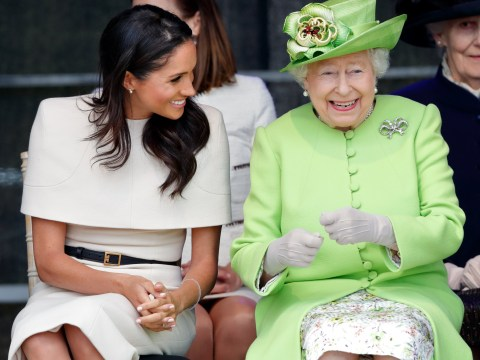 Meghan Markle speaks about Queen in first film since royal wedding