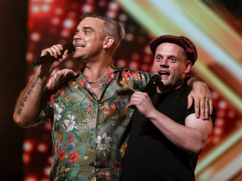 X Factor: Robbie Williams makes hopeful's dream come true with his very own Alexandra Burke and Beyonce moment