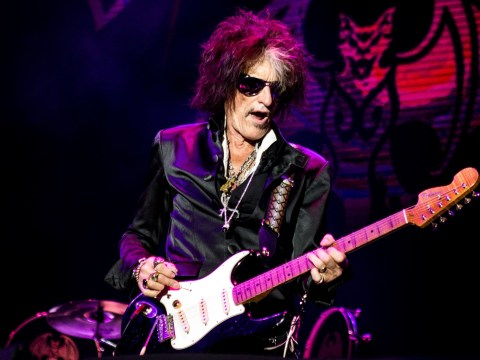Aerosmith's Joe Perry tweets to say he's 'doing well' after being rushed to hospital with breathing difficulties