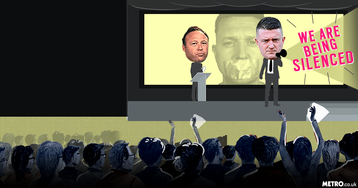 Illustration request: removing the alt-right from social media won't solve the problem Picture: REX/Getty - metro.co.uk