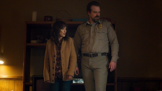 Stanger Things' David Harbour is keen for Hopper and Joyce Byers to get together: 'They're built for each other'