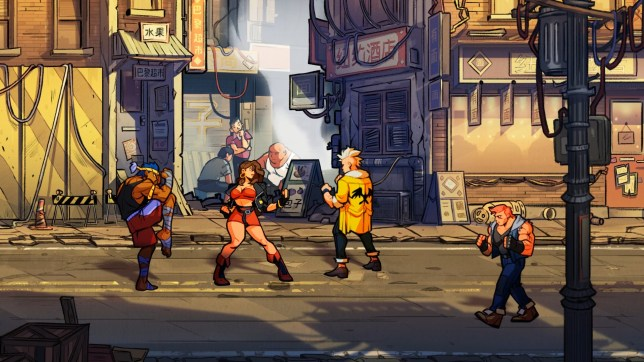 Streets Of Rage 4 music features the original Mega Drive composers