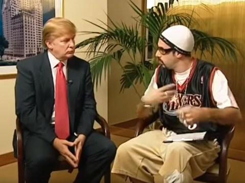 Sacha Baron Cohen brings back Ali G to take shots at President Donald Trump