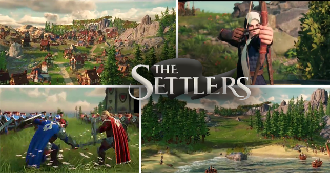 A brand new Settlers game has been announced, along with a nostalgic surprise (Pictures: Ubisoft)