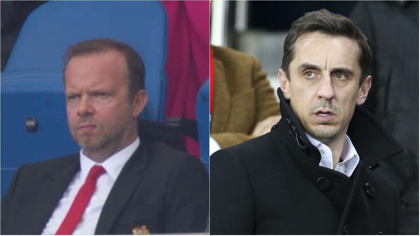 Gary Neville slams Manchester United chief Ed Woodward's reaction to Brighton defeat