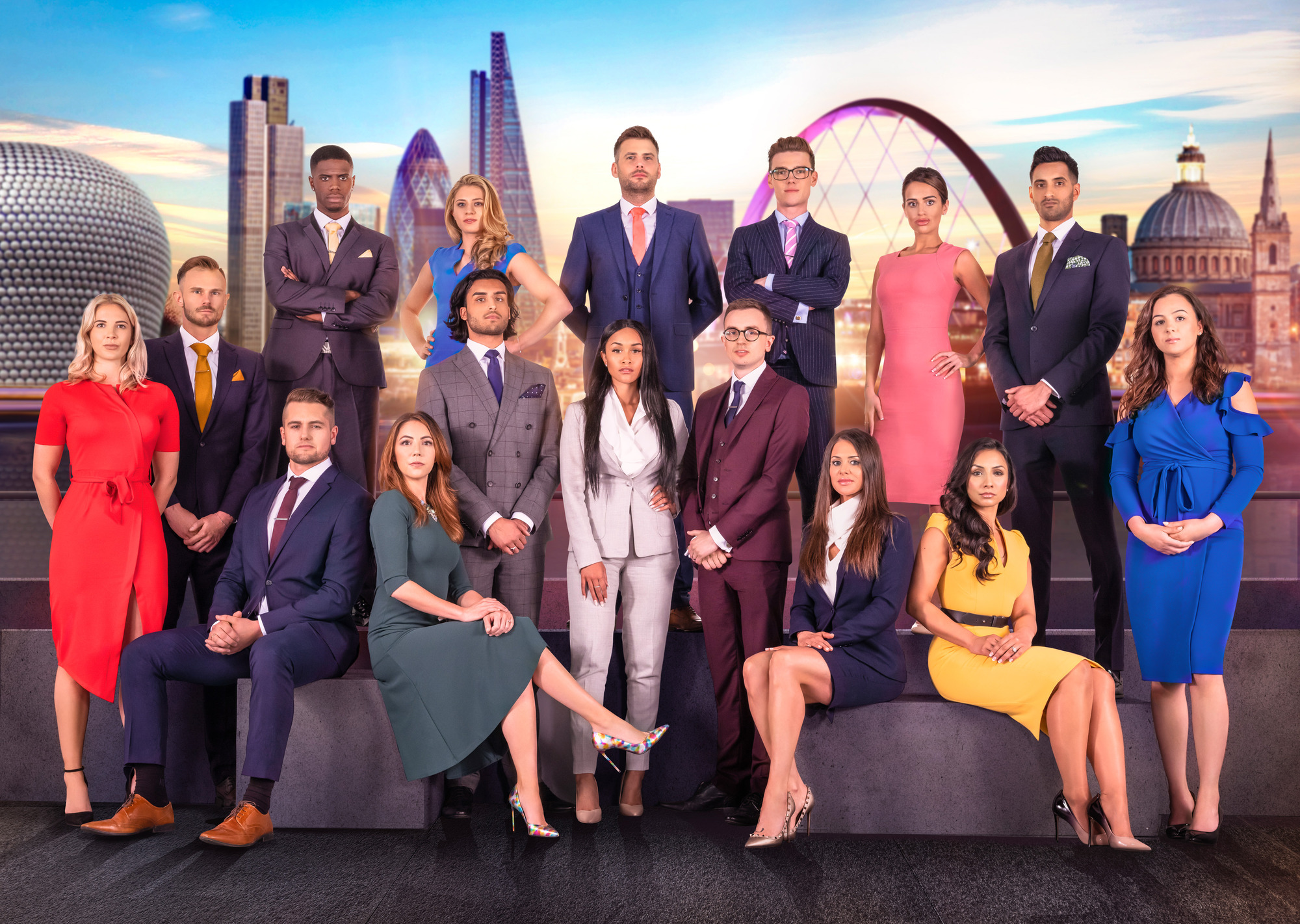 Who are the final five candidates in The Apprentice 2018?