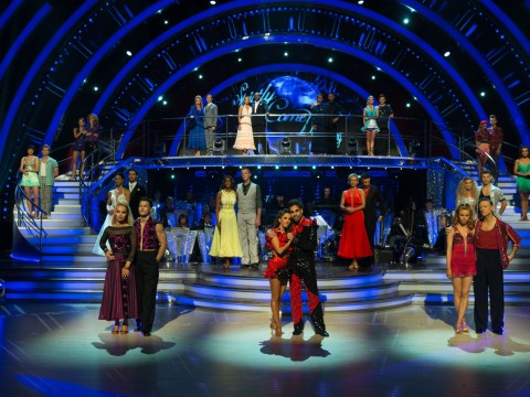 Who left Strictly Come Dancing in the first elimination of the series?