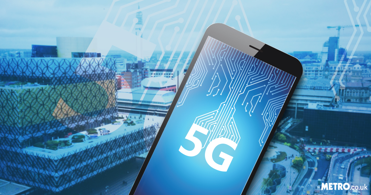 Picture: Getty Birmingham to be UK's initial 5G city