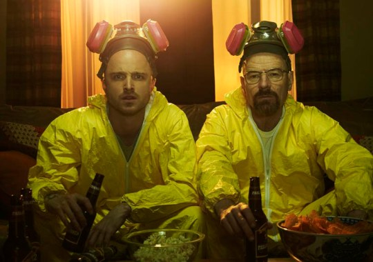 Television Programme: Breaking Bad Starring: Aaron Paul and Bryan Cranston