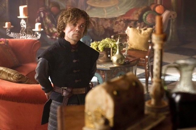 Television programme: Game Of Thrones, Series 3 EP303 Featuring Peter Dinklage as Tyrion Lannister HBO Enterprises