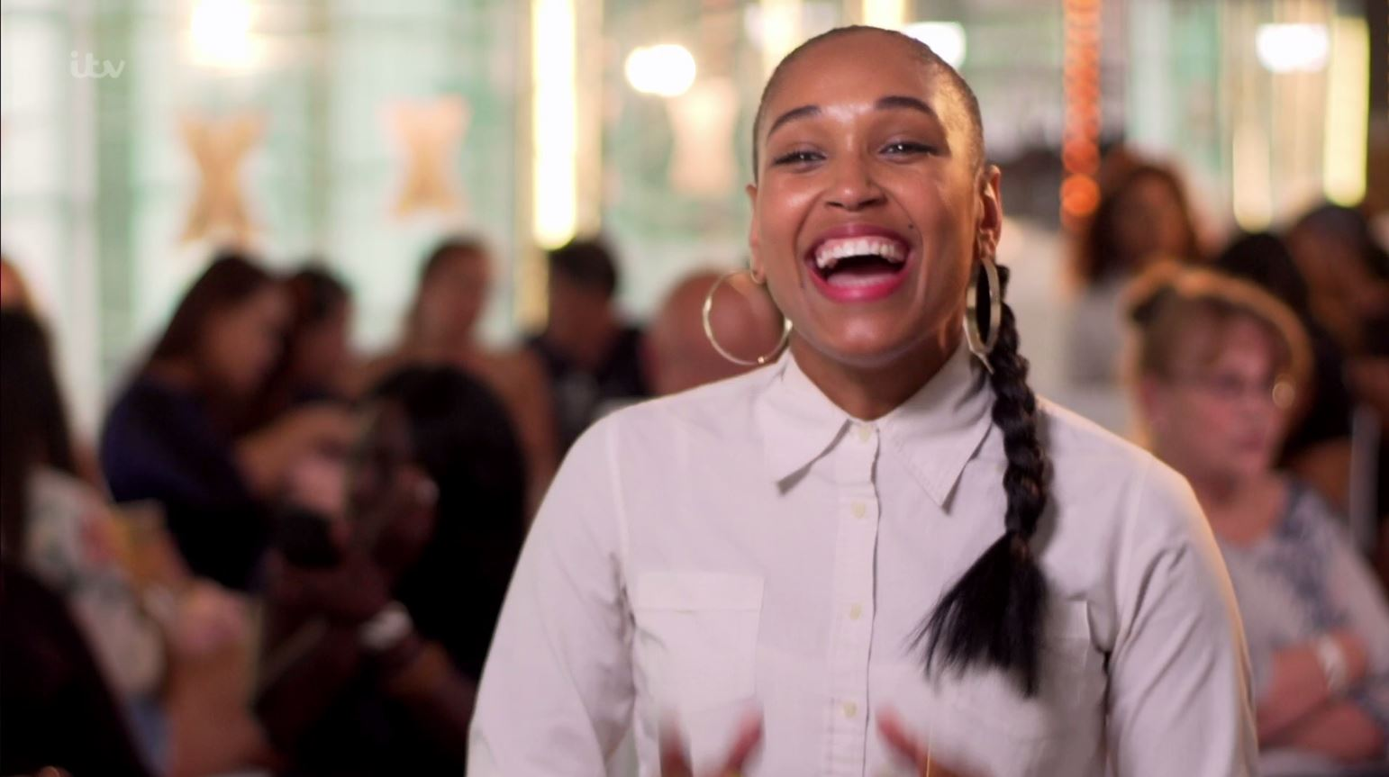 Dee Lush smashed her X Factor audition (Picture: ITV)